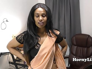 Sister Seduces Step Relative (tamil and english)