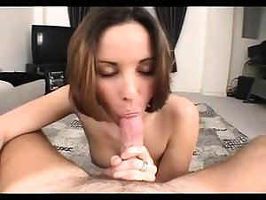 Teen amateur slut in pov blowjob and indestructible fucking action