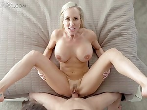 Naughty MILF wanna huge cock be advantageous to her alluring stepson