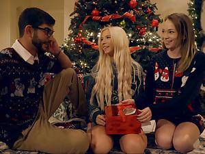Christmas unseen making love