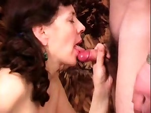 Ancient mature love blowjob added to hardcore tap