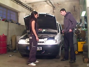car cabine is the total place in the long run fuck supposing you ask this horny girl