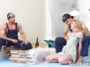 Teen Via Lasciva Enjoys Mouthwatering DP
