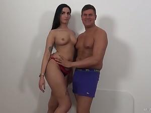 Lusty Loren Minardi loves taking obese prick into their way anus deep enough for delight