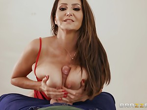 Super mature Ava Addams gets her pussy pounded in many poses