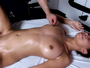 Tantric Massage 96 - 18 Genre Old Has Intense G Spot Orgasms Fucks Masseuse