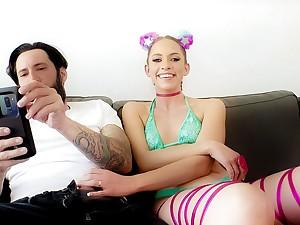 Khloe Kapri & Tommy Pistol in BTS-Khloe: Squirting Pussy & Gaping Anal - EvilAngel