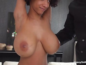 Very Prex Ebony Young Ungentlemanly (big-breasted 28h 19yrs Ebony - miniature