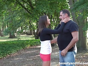 Alfresco going to bed with cum in mouth ending be expeditious for adorable Gabriella
