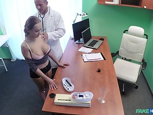 Crazy fucking on hammer away convalescent home wainscot with amateur Katerina Muti